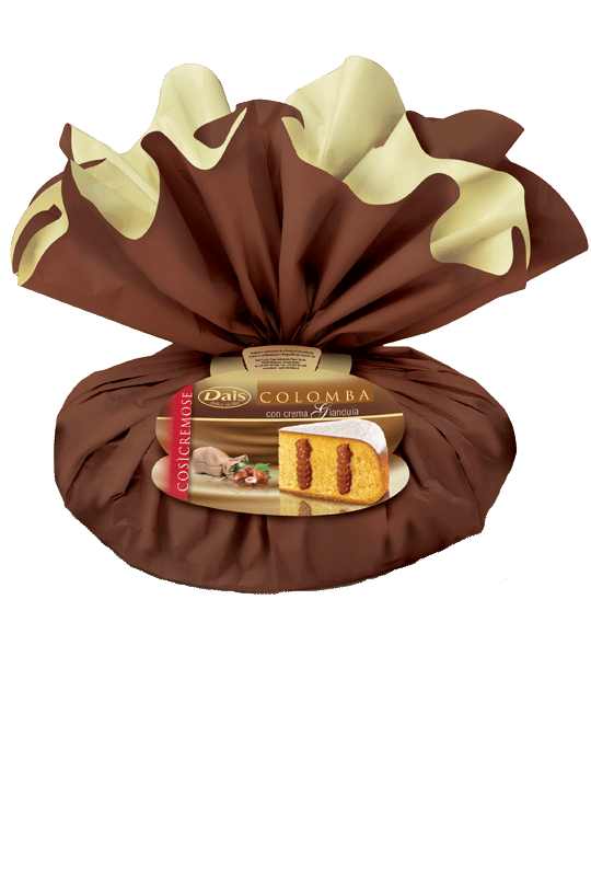 Colomba Gianduia incartata